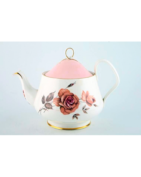 (OUT OF STOCK) ROYAL ALBERT PRELUDE VINTAGE TEAPOT